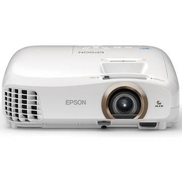 Projektor 3LCD, EPSON EH-TW5350, FullHD 1920x1080, 2200 ANSI lumena, 35000:1, 3D, WiFi, HDMI, bijeli