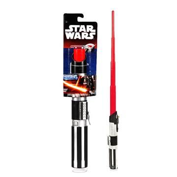 Svjetlosni mač HASBRO B2912, STAR WARS, Darth Vader lightsaber, na izvlačenje, crveni