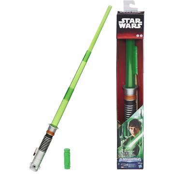 Svjetlosni mač HASBRO B2919, STAR WARS, Luke Skywalker lightsaber, elektronski, zeleni