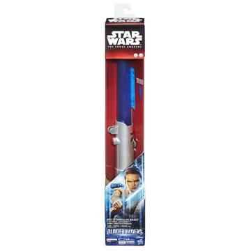 Svjetlosni mač HASBRO B2919, STAR WARS, Rey lightsaber, elektronski, plavi