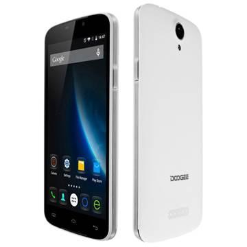"Smartphone DOOGEE X6 Pro, 5.5"" IPS multitouch, QuadCore MT6735 1GHz, 2GB RAM, 16GB Flash, Dual SIM, kamera, 3G, BT, GPS, Android 6.0, bijeli"