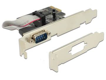 Kontroler PCI-E, DELOCK, serijski port (RS-232, DB9), low profile