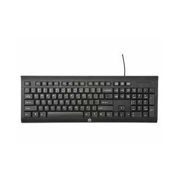 Tipkovnica HP K1500, USB, crna