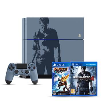 Igraća konzola SONY PlayStation 4, 1000GB, C Chassis Special Edition + Uncharted 4: A Thief's End + Ratchet and Clank