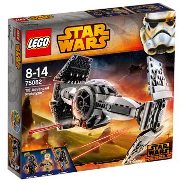 LEGO 75082, Star Wars, TIE Advanced Prototype, The Inquisitor