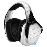 Slušalice LOGITECH Gaming G933 Artemis Spectrum Snow, 7.1 bijele, WiFi
