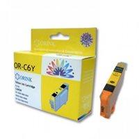 Tinta ORINK za CANON CLI-526Y, za Pixma IP4850/MG5150/MG5250, žuta (sa mikročipom)