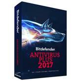 BITDEFENDER Antivirus Plus 2017, godišnja pretplata za tri korisnika, retail