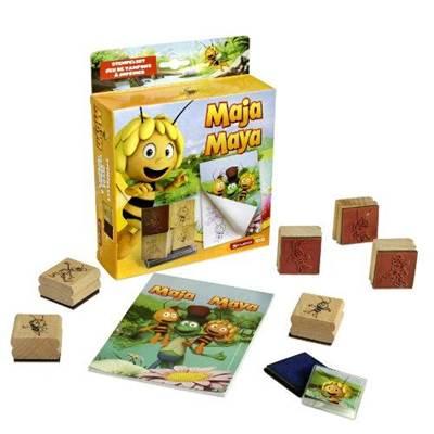Igračka DEXY, Maya Stamp Set, Pčelica Maja, set pečata