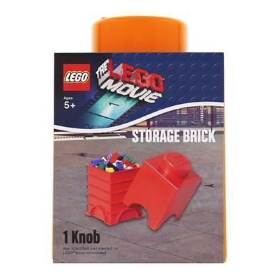 Kutija LEGO Storage Brick 1, narančasta