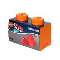 Kutija LEGO Storage Brick 2, narančasta