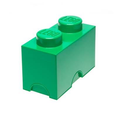 Kutija LEGO Storage Brick 2, zelena