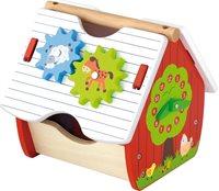 Drvena igračka VIGA 50533, Activity Farm, Farmerska kućica s aktivnostima