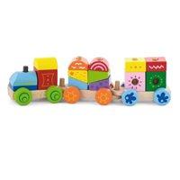 Drvena igračka VIGA 50534, Mali drveni vlakić