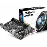 Matična ploča ASROCK AM1B-M, AMD AM1, DDR3, zvuk, VGA, SATA, G-LAN, PCI-E, USB 3.0, D-SUB, mATX, s. AM1