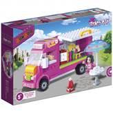 Kocke BANBAO 6117, Trendy City, Ice-Cream Truck, kamion sa sladoledom