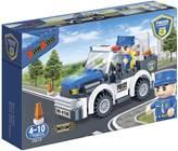Kocke BANBAO 7017, Police, Police Car, policijski auto, pull-back