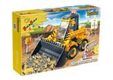 Kocke BANBAO 8539, Construction, Mini excavator, pull-back