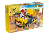 Kocke BANBAO 8541, Construction, Small Loader, mali utovarivač, pull-back