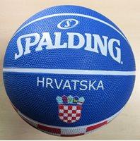 Košarkaška lopta SPALDING KK Cedevita Eurolegaue 2016, gumena, vel.7