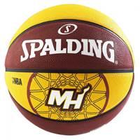 Košarkaška lopta SPALDING NBA Team Miami Heat,gumena, vel.7