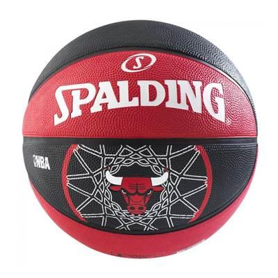 Košarkaška lopta SPALDING NBA Team, Chicago Bulls,gumena, vel.7