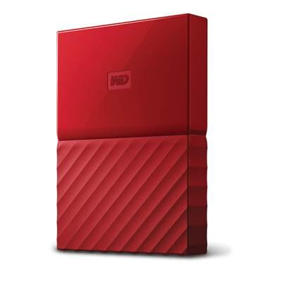 Tvrdi disk vanjski 3000.0 GB WESTERN DIGITAL My Passport WDBYFT0030BRD, USB 3.0, crveni