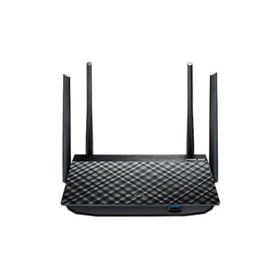 Wireless router ASUS RT-AC58U, AC1300 DualBand, WAN 1-port, Gigabit 4-port, 4x antena, 1x USB 3.0, bežični