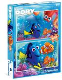 Slagalica CLEMENTONI, Disney, Finding Dory, 2x60 komada