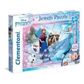 Slagalica CLEMENTONI, Disney, Frozen, 104 komada, sa dekoracijskim naljepnicama