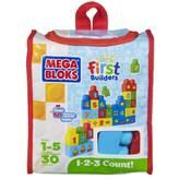 Kocke MEGA BLOKS, First Builders, 1-2-3 Count, set kockica