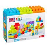 Kocke MEGA BLOKS, First Builders, 1-2-3 Learning Train, vlak za učenje brojeva