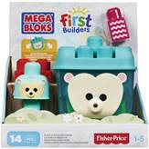 Kocke MEGA BLOKS, First Builders, Build 'n Rock Hedgehog, ježić kutija s kockicama