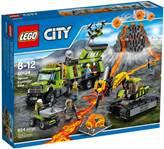 LEGO 60124, City, Volcano Exploration Base, baza za istraživanje vulkana