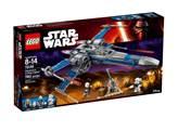 LEGO 75149, Star Wars, Resistance X-Wing Fighter, zvjezdani lovac pokreta otpora