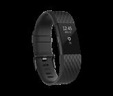 Narukvica za mjerenje aktivnosti FITBIT Charge 2 HR, senzor otkucaja srca,  crna, veličina S