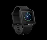 Sat FITBIT Blaze, GPS, multisport, senzor pulsa na zapešću, color touch-ekran, crna, veličina L