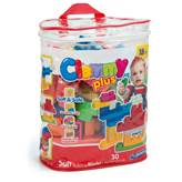 Kocke CLEMENTONI, Clemmy Plus, Soft Building Blocks, 30 mekanih kockica