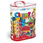 Kocke CLEMENTONI, Clemmy Plus, Soft Building Blocks, 60 mekanih kockica