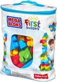 Kocke MEGA BLOKS, Big Building Bag, set kockica, 60 komada