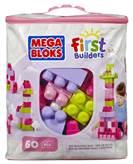 Kocke MEGA BLOKS, Big Building Bag, set kockica, 60 komada, rozi