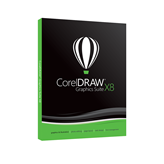 COREL CorelDraw Graphics Suite X8, DVD