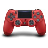 Gamepad SONY PlayStation 4, DualShock 4 v2, bežični, crveni