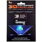 3D Hologram SATZUMA, za pametne telefone i tablet računala