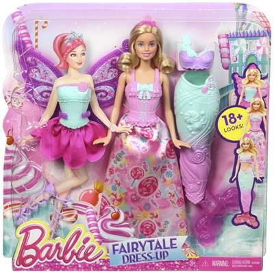 Lutka MATTEL, Barbie Fairytale Dress-up, Barbie bajkovita vila