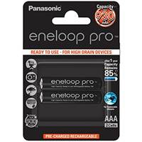 Baterija PANASONIC Eneloop Pro BK4HCDE2BE, tip AAA, punjive, 930 mAh, 2kom