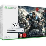 Igraća konzola MICROSOFT XBOX One S, 1000GB + Gears of War 4