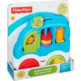 Igračka FISHER PRICE, Animal Friends Discovery Car, auto za istraživanje