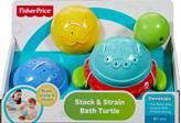 Igračka za kupanje FISHER PRICE, Stack and Strain Bath Turtle, kornjača za kupanje