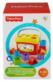 Igračka FISHER PRICE, Baby's First Blocks, sortiranje oblika, umetaljka